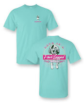 Sassy Frass Love is a Four Legged Word Dog Comfort Colors Bright T Shirt