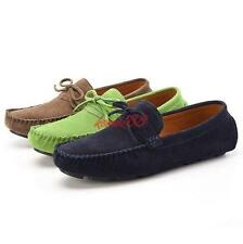 New Mens faux Suede Flats Loafers Shoes Slip On Spring Driving Casual moccasin