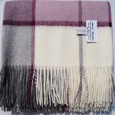 "100% Baby Alpaca Throw Blanket, Horizon Throw ""No Synthetics or Chemical Dyes"""