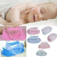 Foldable Baby Infant Mattress Bed Mosquito Net Tent Travel Crib Canopy Netting