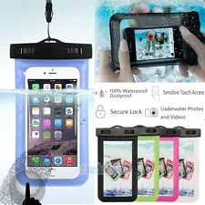 Waterproof Bag Underwater Pouch Dry Case Cover Touchscreen For iPhone Cell Phone