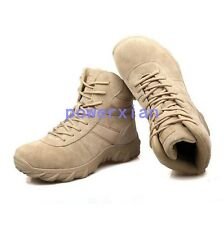 Mens Warm Under Armour Desert Sand Valsetz Tactical Ankle Boots Casual Shoes