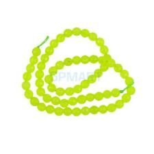 """6mm Natural Jade Faceted Round Gemstone Loose Beads 15.5"""" Candy Color"""