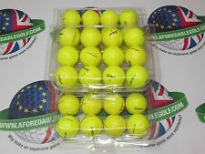 36 TITLEIST DT SOLO OPTIC YELLOW GOLF BALLS PEARL/PEARL 1 GRADE*