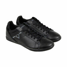 Diesel S-Judzy Mens Black Leather Lace Up Sneakers Shoes