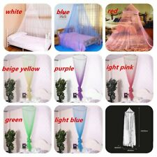 Elegant Round Lace Insect Bed Canopy Netting Curtain Dome Mosquito Net HT