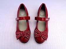 LELLI KELLY LK5610 CAMILLA PATENT ROSSO RED DOLLY BALLERINA SHOES
