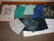 Bundle Girls Clothes age 10-11yrs Next  New Look  Red Herring Shorts Tops Jeans