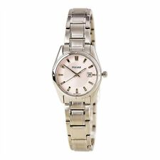 Pulsar  Ladies Analog Watch Casual Silver Band PXT809