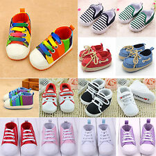 Toddler Baby Shoes Sneakers Kid Girl Boy Trainers Soft Sole Crib Shoes Prewalker