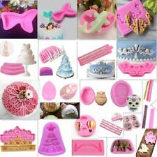 3D Silicone Mould Fondant Mold DIY Cake Molds Baking Decorating Tool Multichoice