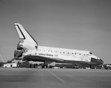 Space Shuttle Discovery after landing on Runway 33 at KSC Photo Print