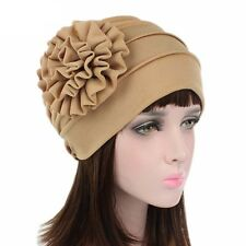 Muslim Women Flower Bonnet Chemo Hijab Turban Cap Hat Head Wrap Scarf Cover New