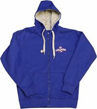 Chicago Cubs World Series Champions Men's Antigua Royal Full-Zip Hoodie Jacket
