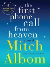 The First Phone Call from Heaven Mitch Albom 2013 Hardcover 1st Edition Signed