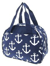 Navy Anchor Insulated Lunch Tote Bag-Lunch Bag