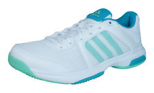 adidas Barricade Aspire STR Womens Tennis Trainers / Shoes - White - AF4420