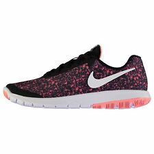 Nike Flex Experience Rn 6 Trainers Womens Pnk/Wht/Blk Sneakers Sports Shoes