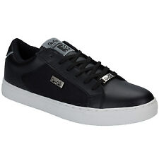 Mens Gio Goi Southerly Trainers In Black And White From Get The Label
