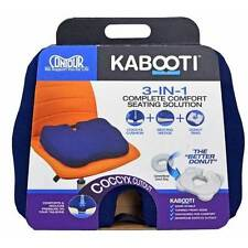 Contour Living Kabooti Coccyx 3-in-1 Ring Cushion Innovative Lobes Center Cutout