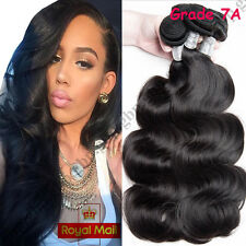 300g THICK 7A Brazilian Unprocessed Virgin Human Hair Extensions Weave Weft A407