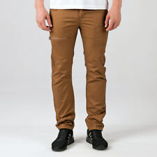 Mens Eto Em574 Tapered Fit Jeans In Tan-Button Fly-Belt Loops To Waist-Multiple