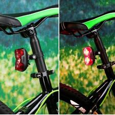 2 LED Super Bright Bicycle Bike Safety Rear Tail Light Lamp 3 Modes with Clip