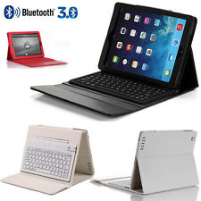 Wireless Bluetooth Keyboard Case Leather Flip Stand Cover for iPad 2 3rd 4th Gen