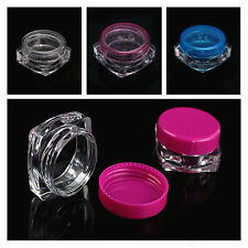 3g / 5g Empty Cosmetic Jar Pot Eyeshadow Makeup Face Cream Lotion Container Lot