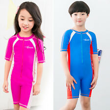 New Children Piece Scuba Snorkeling Wetsuit Rash Guard Surfing Surf Clothing Hot
