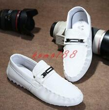 Spring Casual Mens flat British Slip On Breath Gommino Loafers driving Shoes