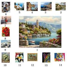 50x40cm Canvas DIY Oil Painting Paint By Number Kits Home Abstract Wall Artwork