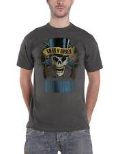 Guns N Roses T Shirt Use Your Illusion Logo Official Amplified Mens New Charcoal