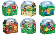 Childrens Kids Fruit Playing Birthday Party Box Bag Loot Favour Carry Boxes Food