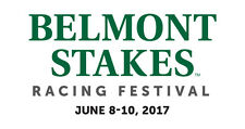 1- 2 Tix Belmont Stakes SEC 2M Row O   SEATS AT THE FINISH LINE 6/10/17