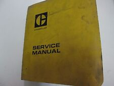 "Caterpillar D3 D8 Tractor 5.75"" Bore 6 CYL Service Manual BINDER STAINS WORN"