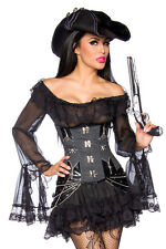 Burlesque Gothic Vintage sexy Long Blouse/Dress,String, black Tulle Lace Ladies