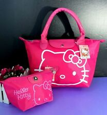 NEW HELLOKITTY HAND BAG PURSE BAG WITH MAKE UP COSMETIC BAG AA-2554-1A