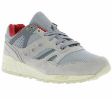 NEW Saucony Grid SD Men's Shoes Real leather Sneaker Trainers Grey S70263-1