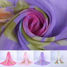 New Chiffon Scarves Long Sun Shade Beach Towels Dual-use Changeable Scarf Shawl