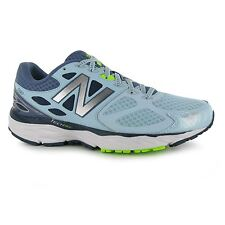 New Balance W680 v3 Running Shoes Womens Blue/Blue Trainers Sneakers Sports Shoe