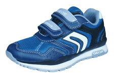 Geox J Pavel A Boys Trainers / Sports Shoes - Navy Blue