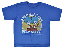 Dr. Seuss Thing 1 Playdates Toddlers Blue T-Shirt