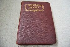 Charles Reade - The Cloister and the Heart - Vintage Leather Bound Book 1924