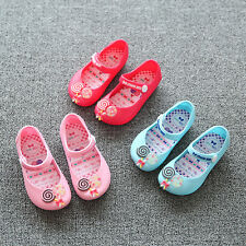 2017 Fashion Children Princess Girl's Kids Jelly Sandals Candy Sugar Shoes Hot