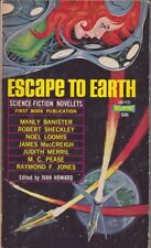 Ivan Howard: Escape to Earth. Science Fiction Belmont 830443