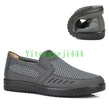 Mens Slip on Breathable Loafer Shoes Summer Mesh Casual Shoes sneaker size New B