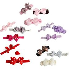 3PCS Infnat Baby Girls Cute Bowknot Headband Hair Band Princess Hair Accessories