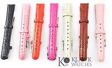 Invicta Women's Watch Band 16 mm Genuine Leather Watch Strap Fits Invicta Lupah