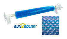 Sun2Solar™ Above Ground Solar Cover Reel & Blanket Swimming Pool up to 24' Wide